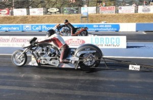 Top Fuel Harley Final Round