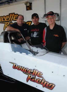 Doug Doucette (left) with Scott Palmer &amp; Ken Murray
