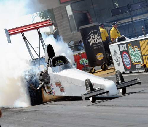 The Manitoba-based injected nitro car of Doug Doucette continues to make solid progress on the NHRA racing scene