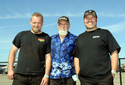 Wes, Jim & Frank Goddard