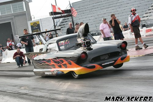 Wes Goddard drove this outrageous alcohol-injected Nash up until 2009 (Photo by: Mark Ackert)