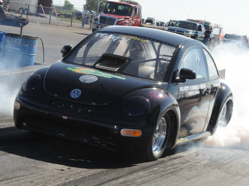 To date -- the VW has run 8.60's at 161+ mph.....