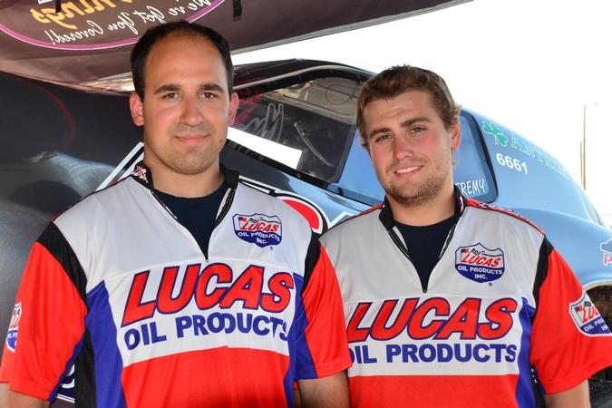 Canadian developing racers -- Jeremy Jelinski and Scott Bourdin