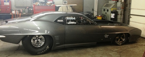 Here is an exclusive first look at Canada's newest Pro Mod car - owned by Winnipeg's Chris Mondor