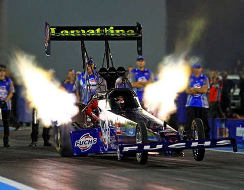 Phil Lamattina collected back to back wins last weekend in ANDRA Top Fuel racing