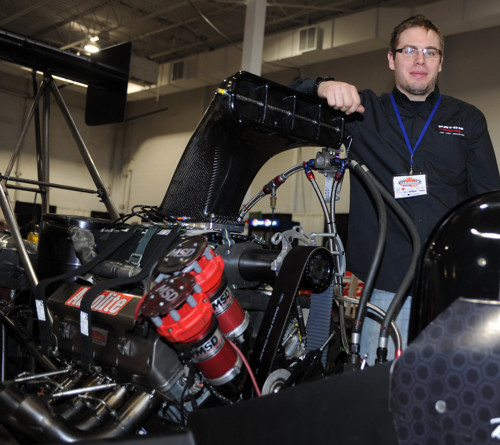 Paton Racing's Mark Morris has revealed details of that team's Top Fuel upgrade