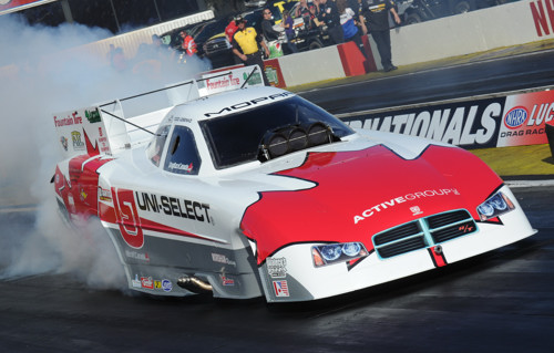 """Todd's first venture out in """"Canada's Dodge Charger"""" produced a career best speed and ET"""