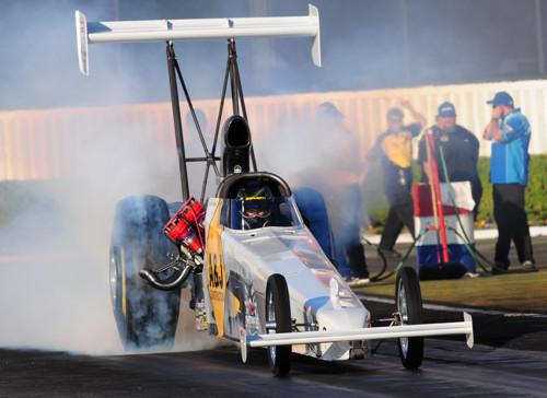 Edmonton's Don St. Arnaud set top speed of the meet in TAD