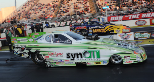 The Canadian-based TAFC owned by Geoff Goodwin just missed winning at Pomona's Winternationals