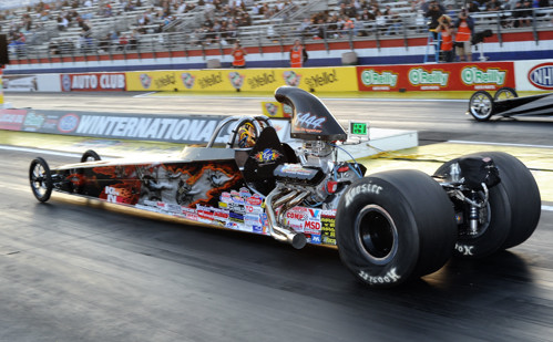Scott Taylor showed his skilled racing ability again at Pomona