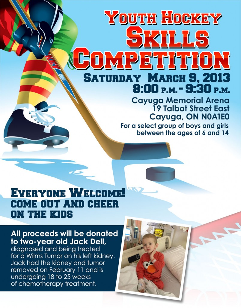 Youth Hockey Skills Competition _Poster