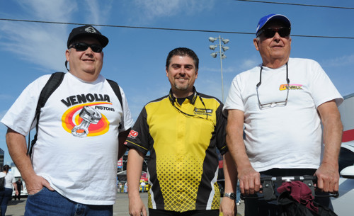 Todd Paton with Bob & Steve McIntire