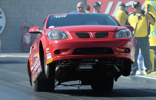 Byron Setters was the top qualifying Canadian in Super Stock at -.935 with his awesome 2009 G5.
