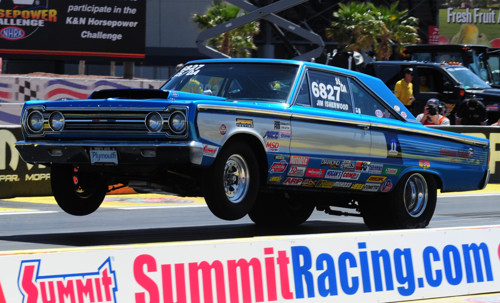 Jim Isherwood's '67 Belvedere SS/DA from Mission BC was a huge fan favourite in Super Stock