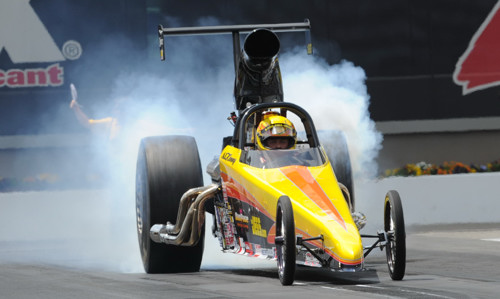 Defending NHRA Super Comp World Champion Al Kenny showed his winning ways again.  For the Kingston Ontario based racer it was NHRA national event win #6 of his career.