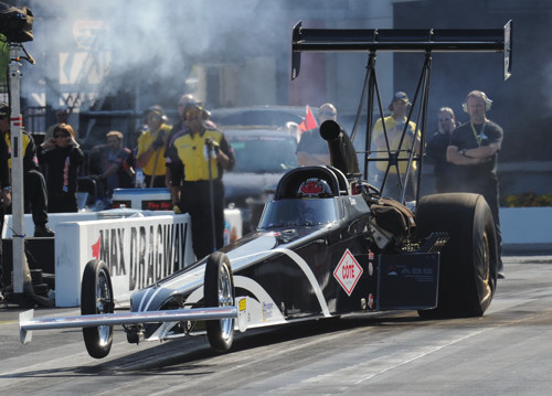 Quebec's Daniel Mercier ran a best of 5.492 secs to qualify #14 in TAD before losing out in round #1.