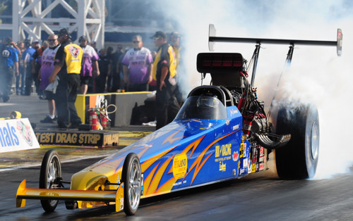 Oregon's Joey Severence won for the 3rd time in NHRA national event  TAD competition.