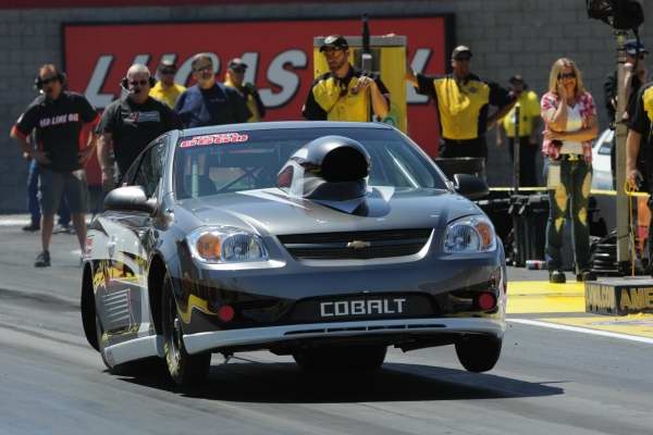 Adam Bowdish rolled the Canadian based new car owned by Ken Reich to victory in Competition eliminator.
