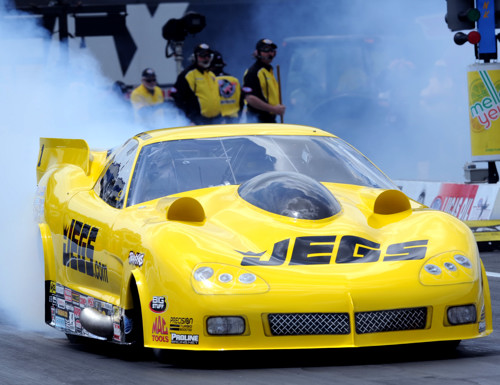 Defending series Champion Troy Coughlin drove his R2B2 built turbocharged Corvette to victory at Concord.