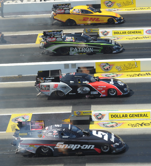 NHRA's only 4-Wide event of the season played out well for 2013