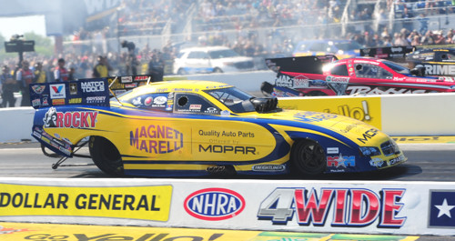 Matt Hagan wheeled the great looking Magneti-Marelli Dodge Charger to a big win in Funny Car