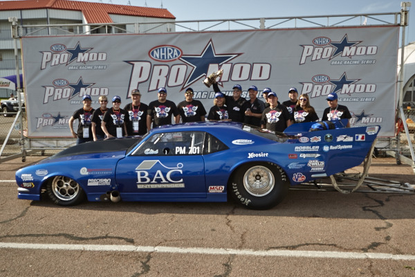 NHRA's Pro Mod class stop at Houston produced a first time circuit winner.