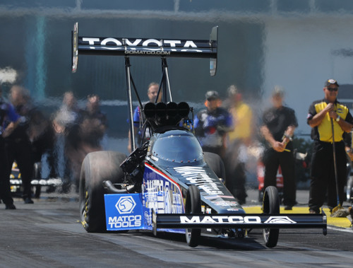 Antron Brown collected career victory #39 during NHRA's rain deferred Summit Racing Southern Nationals.