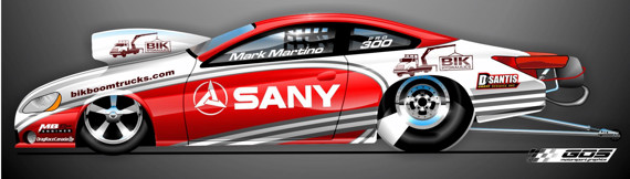 Martino Motorsports and MB Racing will debut their new Pro Stock effort during NHRA's upcoming event at Englishtown NJ.