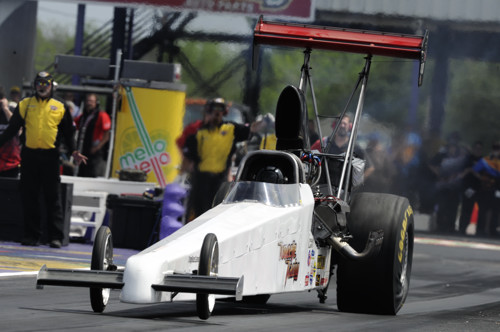 Doug Doucette's injected nitro car is driven by Alan Bradshaw.