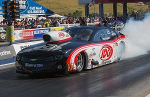 Wily Rickie Smith won in Pro Mod at Bristol for the 2nd year in a row.