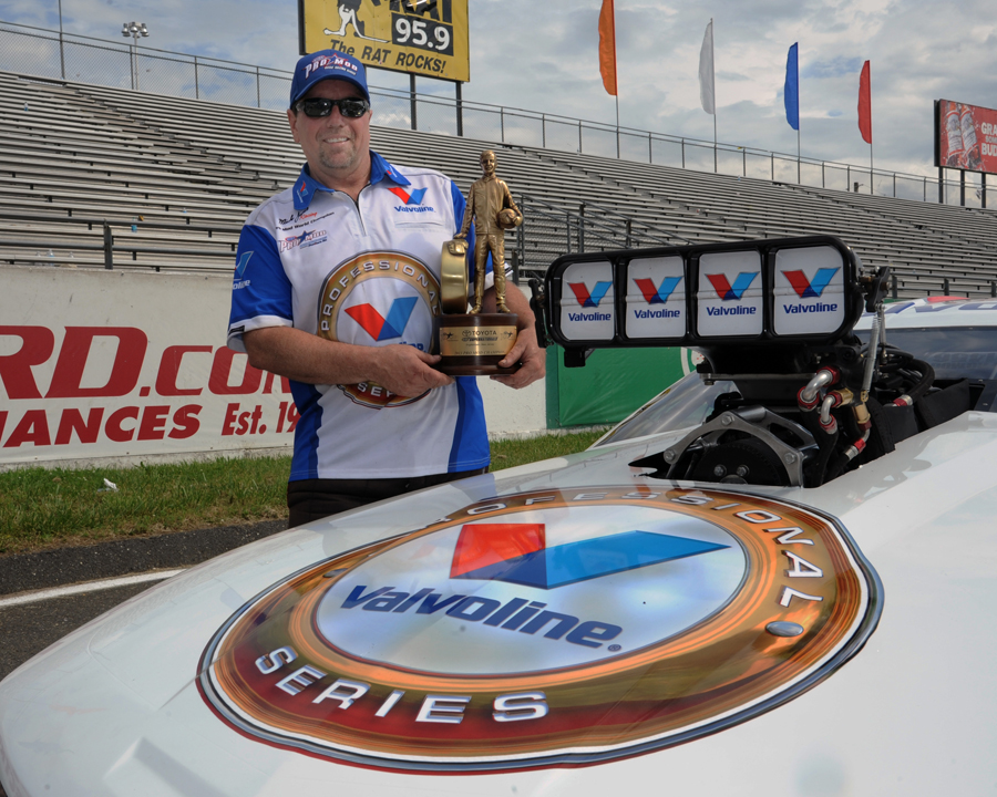 Mike Janis - one of Pro Modified's most prolific races - earned his much coveted first NHRA circult win last weekend.