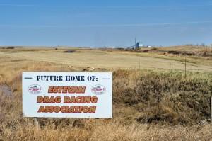 Estevan Drag Racing Association - New Drag Strip land(1)