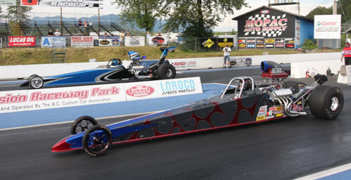 Mission's Top Dragster final round was another Canada versus USA showdown.