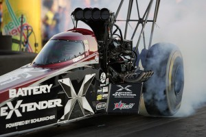 Spencer Massey - driving for DSR - won in Top Fuel