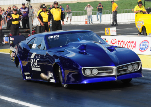 Clint Satterfield - who won at Houston -- is now racing this R2B2 Race Cars Pontiac Firebird.