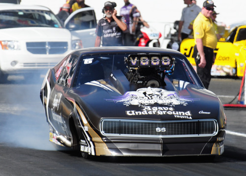 Canadian native Danny Rowe set both top speed & low ET at NHRA Englishtown