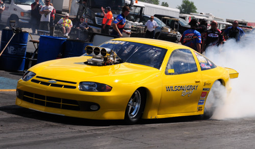 The Ingersoll, Ontario-based Top Sportsman entry of Wilson and Gray won the Cayuga Community Weekend deferred finale.