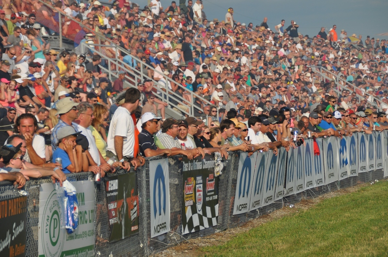 Grand Bend Motorplex was once again filled to capacity for the 2013 Mopar Canadian Nitro Nationals