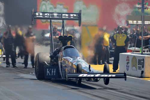 Shawn Langdon increased his NHRA Mello Yello Series points lead with his 3rd win of the year in Top Fuel