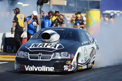 Vincent Nobile earned his 7th career NHRA Pro Stock event title win.