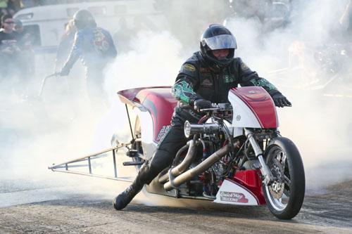 Nitro Harley winner Tracy Kile