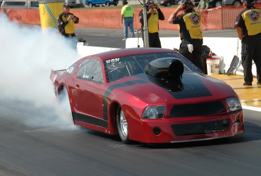 Winnipeg's Rene Rivard entered this cool '09 Mustang in Top Sportsman