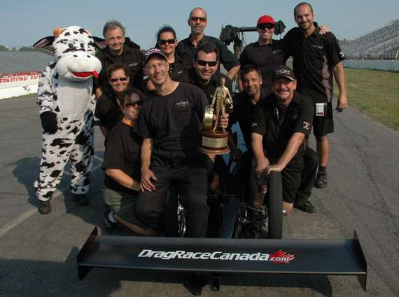 Manitoba's Bakx Racing delivered a very convincing win in TAD at NHRA Brainerd last weekend