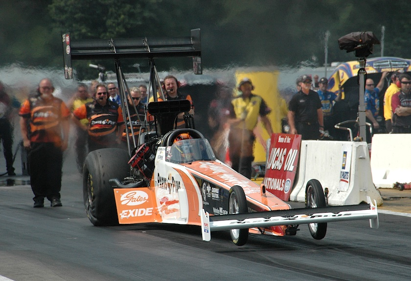 Clay Millican had an outstanding Top Fuel effort at BIR - placing R/UP and setting both Top Speed and Low ET