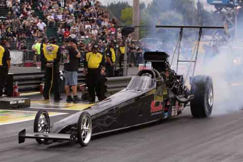 Shawn Cowie's 4th career NHRA National event win was easily his most dramatic  .