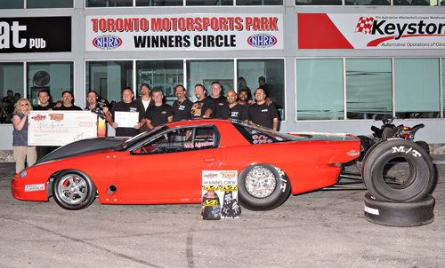 For the 2nd year in a row Nick Agostino came away a big winner at the Canadian Street Car Nationals