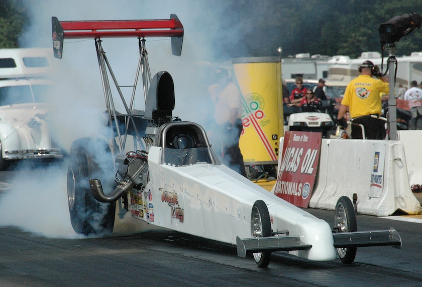 Alan Bradshaw qualified the Winnipeg-based A/FD owned by Doug Doucette deep in the TAD field at #5 with a 5.339 secs