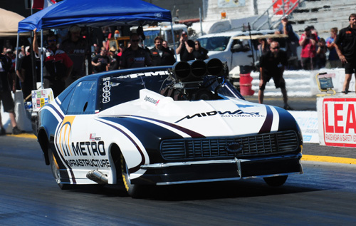 PMRA event win number five for Rocky DiLecce included both low ET and top speed of the meet