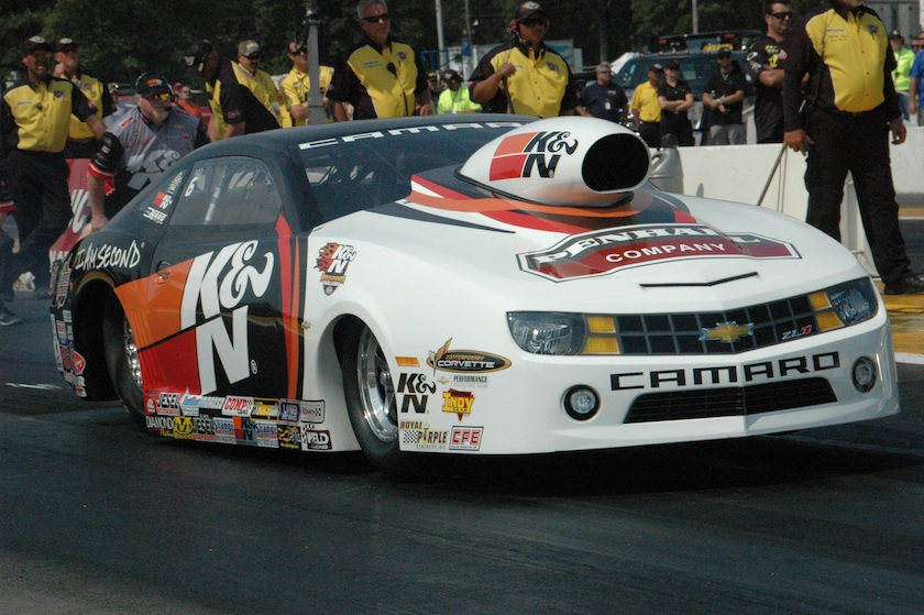 Mike Edwards recorded his 5th win of the season to take the event's Pro Stock crown.