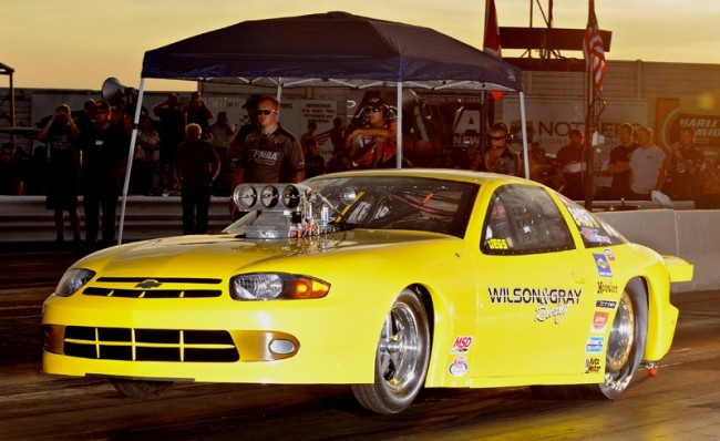 The very consistent running Gray & Wilson Cavalier was once again the car to beat in  Quick 32 racing.